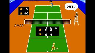 Arcade Game: Vs. Tennis (1984 Nintendo)