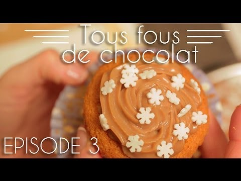Tous fous de chocolat - Les cupcakes à la Pralinoise
