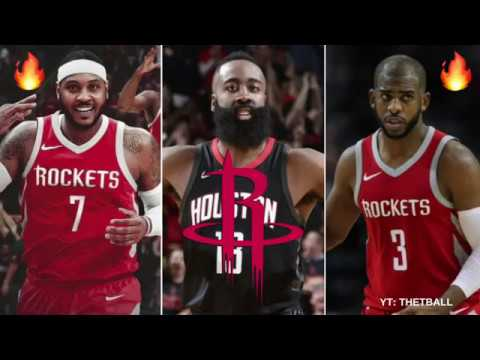 Previewing the Houston Rockets 2018-19 NBA Season & Predictions! | Carmelo Anthony Joins Harden!