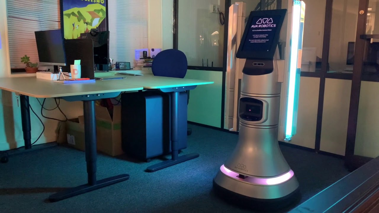 Ava UV Disinfection Robot Demo