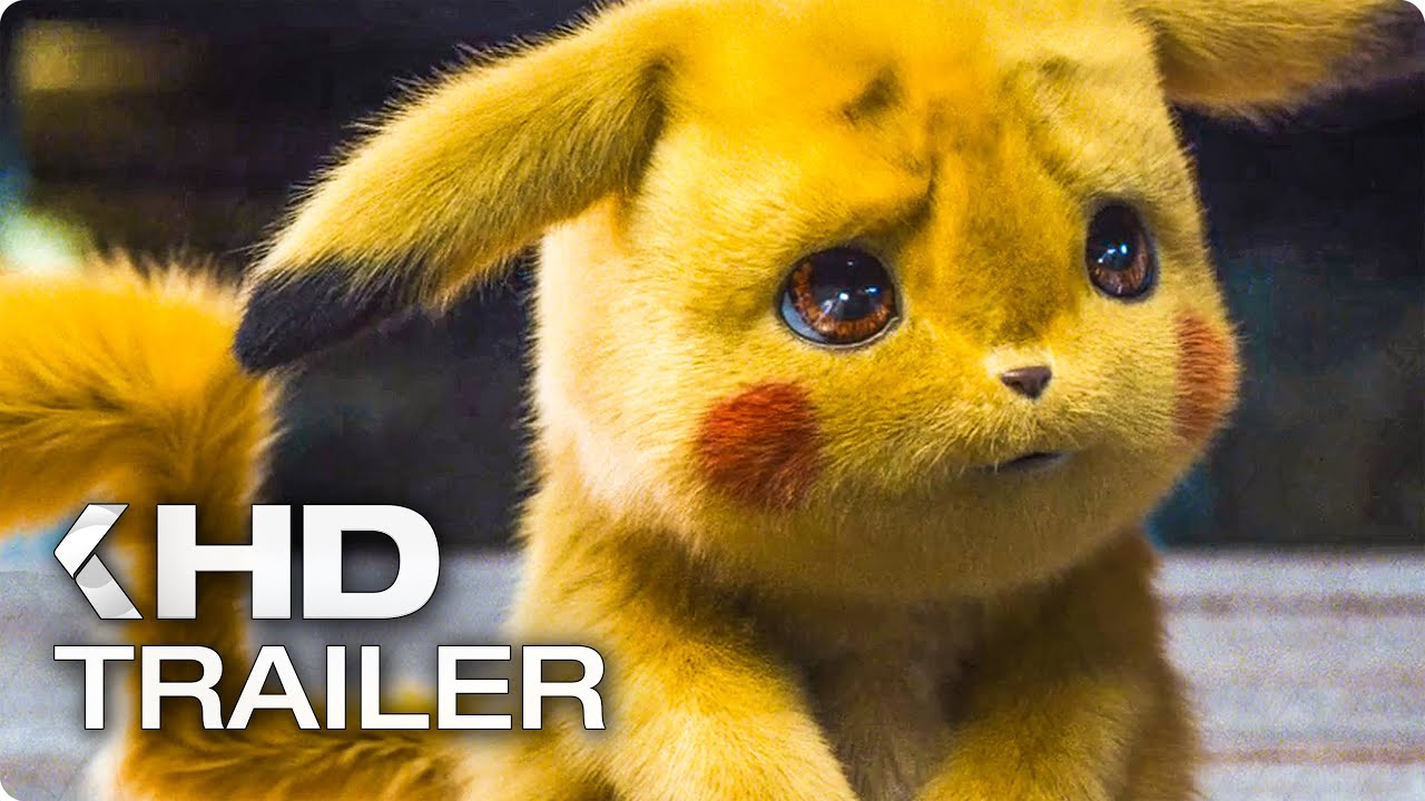 POKEMON: DETECTIVE PIKACHU Trailer (2019)