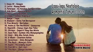 Lagu-lagu Nostalgia Romantis Indonesia Tahun 2000an