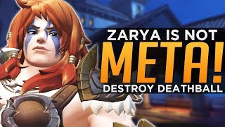 Overwatch: Counter the META! - EASY Ways to Beat Rein Zarya!