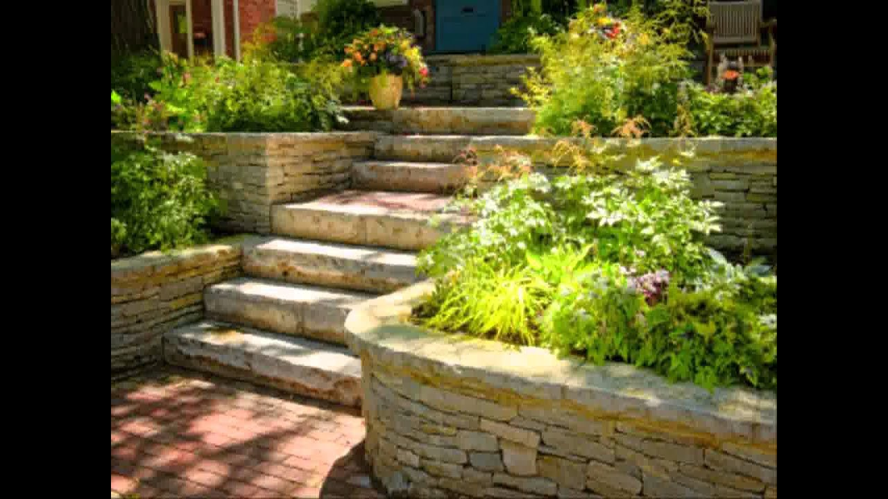 Small home terraced garden ideas youtube for Terraced house garden ideas
