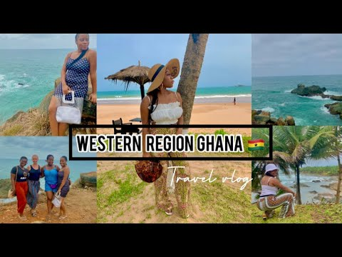 GHANA: WESTERN REGION COASTAL TOUR| TAKORADI, BUSUA, CAPE 3 POINTS & AXIM| TRAVEL VLOG PT1