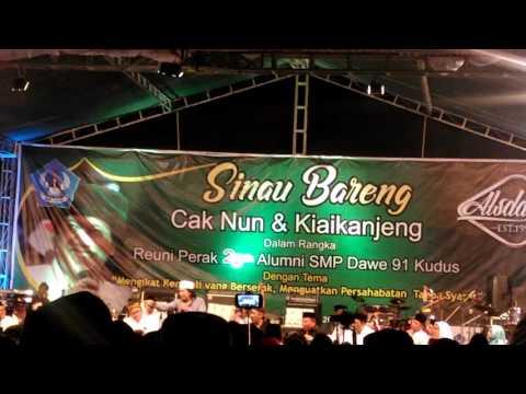 CAK NUN & KIAI KANJENG Dawe Kudus - sesi tanya jawab seputar Pendidikan dan Politik di Indonesia