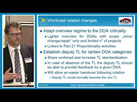 News from EASA DOA Dept, Electric Aviation, Repairs best practice