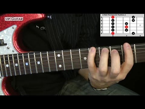 "Die 5 Pentatoniken für Gitarre: ""A-Moll Pentatonik Position.1"" - Einfache Übung from YouTube · Duration:  8 minutes 2 seconds"