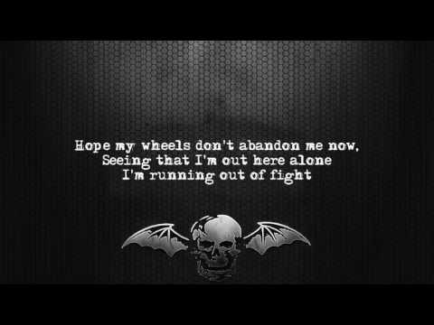 Avenged Sevenfold - The Stage [Lyrics on screen] [Full HD]