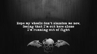 Avenged Sevenfold - The Stage [Lyrics on screen] [Full HD]
