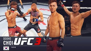 Doo-Ho Choi's Hands Are Certified On UFC 3! EA Sports UFC 3 Online Gameplay