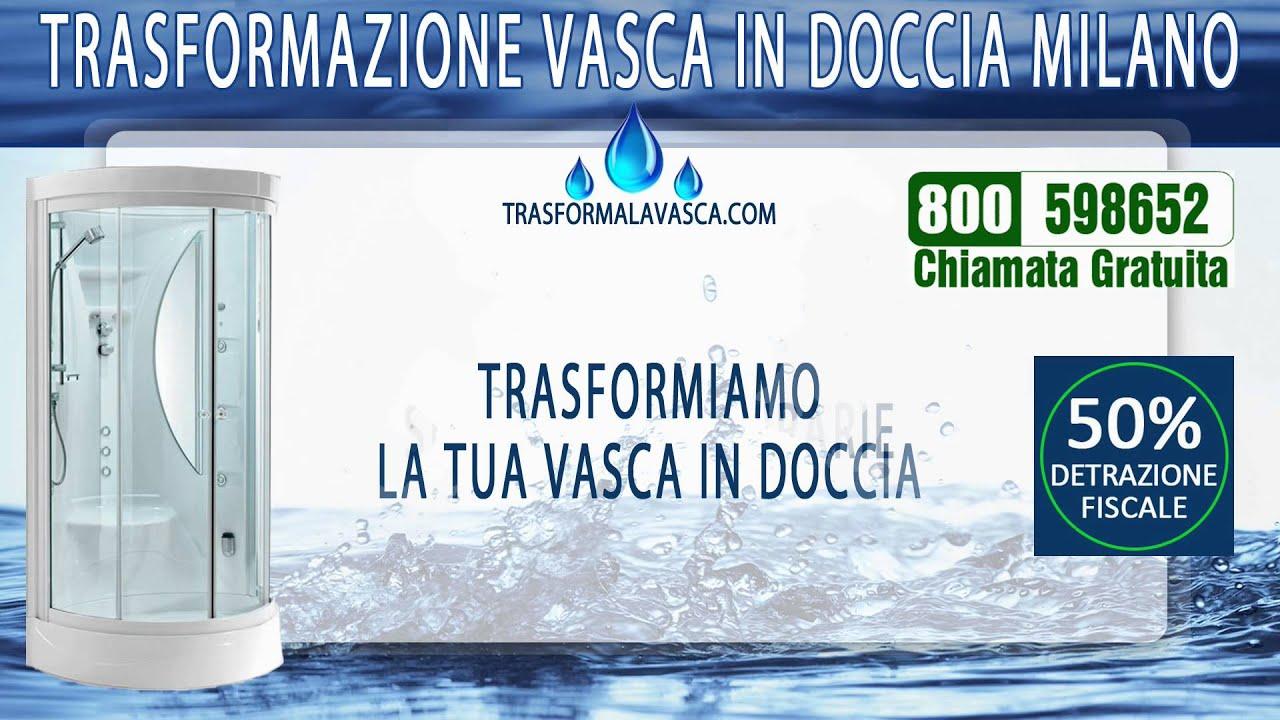 Trasformazione Vasca in Doccia Milano - YouTube