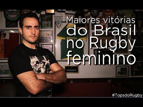 #TopsDoRugby – Maiores vitórias do Brasil no rugby feminino