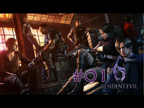 Let´s Play Resident Evil 6 - Der Anfang #01 [German/Deutsch]