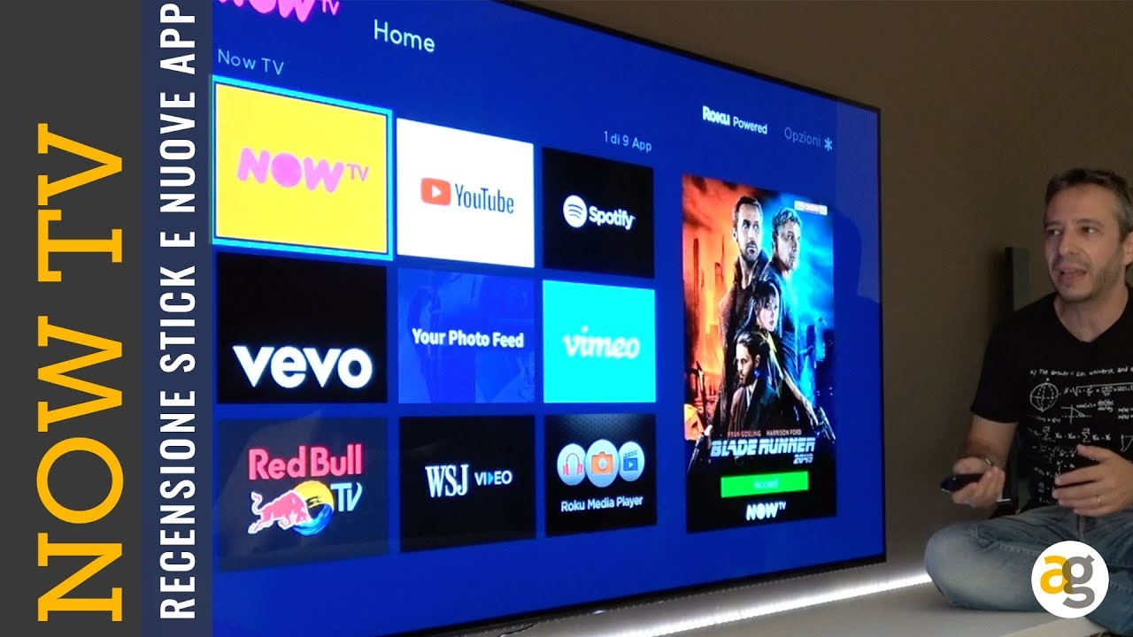 app dazn su now tv