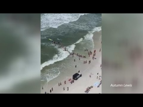 The Penthouse Blog - WTF: People Created Human Chain To Rescue Swimmer