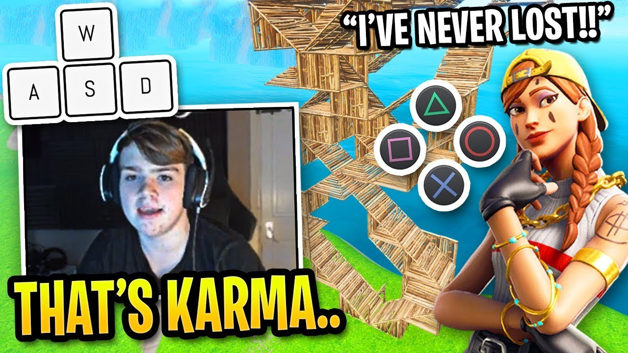 Mongraal Gives Cocky Controller Player INSTANT KARMA in Fortnite