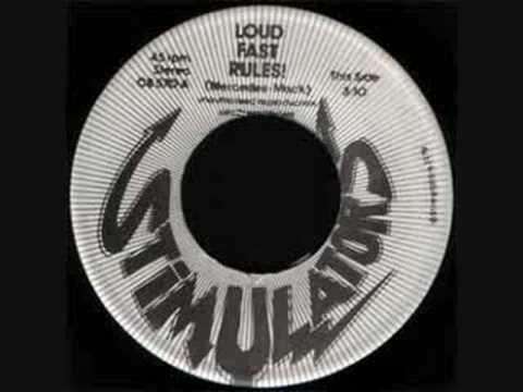 THE STIMULATORS-loud,fast rules