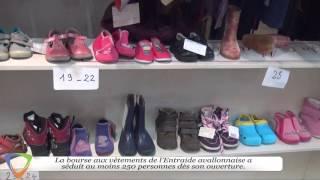 Bourse aux vêtements automne-hiver - Association Entraide Avallonnaise - Édition 2015 à Avallon (89)