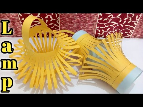 Diwali lamp making at home/Diwali lamp decoration ideas/Diwali lamp craft ideas