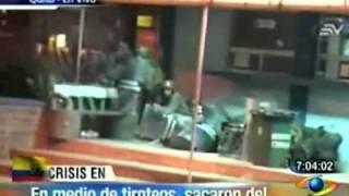 Así fue el rescate de Correa