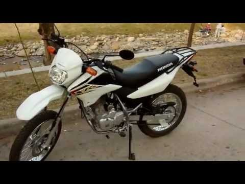probamos la honda xr 125 l youtube. Black Bedroom Furniture Sets. Home Design Ideas
