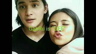 Gabbi Garcia & Ruru Madrid sweet moment