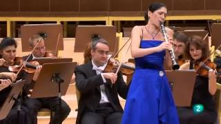 Sharon Kam with Madrid Radio RTVE -  Weber concerto No. 2 Third movement- Alla Polacca