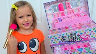Funny Videos with Toys and Makeup from Katy for kids