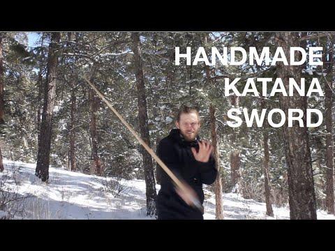 Handmade Wooden Katana Style Samurai Sword