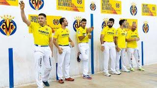 FINAL V Trofeu Villarreal CF de Pilota Valenciana