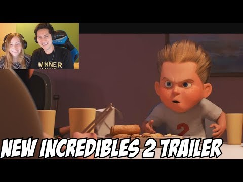 New Incredibles 2 Official Full online Reaction & Review (2018)