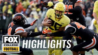 Oregon vs. Oregon State | FOX COLLEGE FOOTBALL HIGHLIGHTS