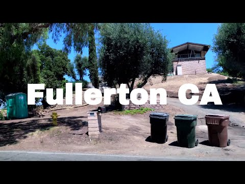 🔴  Fullerton Realtor Driving Tour 4K