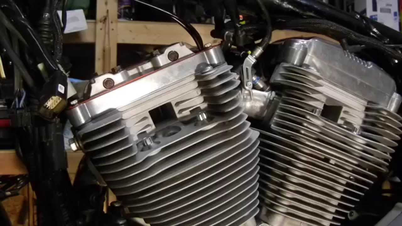 harley sportster xl883l rocker box upper and lower gasket replacement [ 1280 x 720 Pixel ]