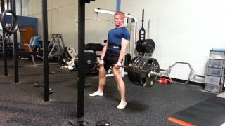 Coach Mike Hitting 500x1 On The Dl | Strength Training In Raleigh, Nc