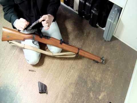 LaZouche Custom airsoft Matrix SMLE gas rifle review