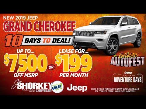 Jim Shorkey CDJR North Huntingdon   19 Jeep Grand Cherokee   Lease $199   Near North Huntingdon, PA