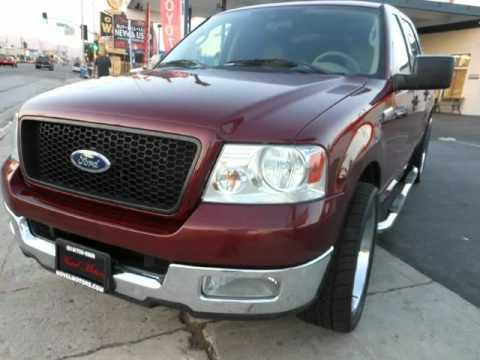 2004 Ford F150 Supercrew Crew Cab Premium Chrome Wheels