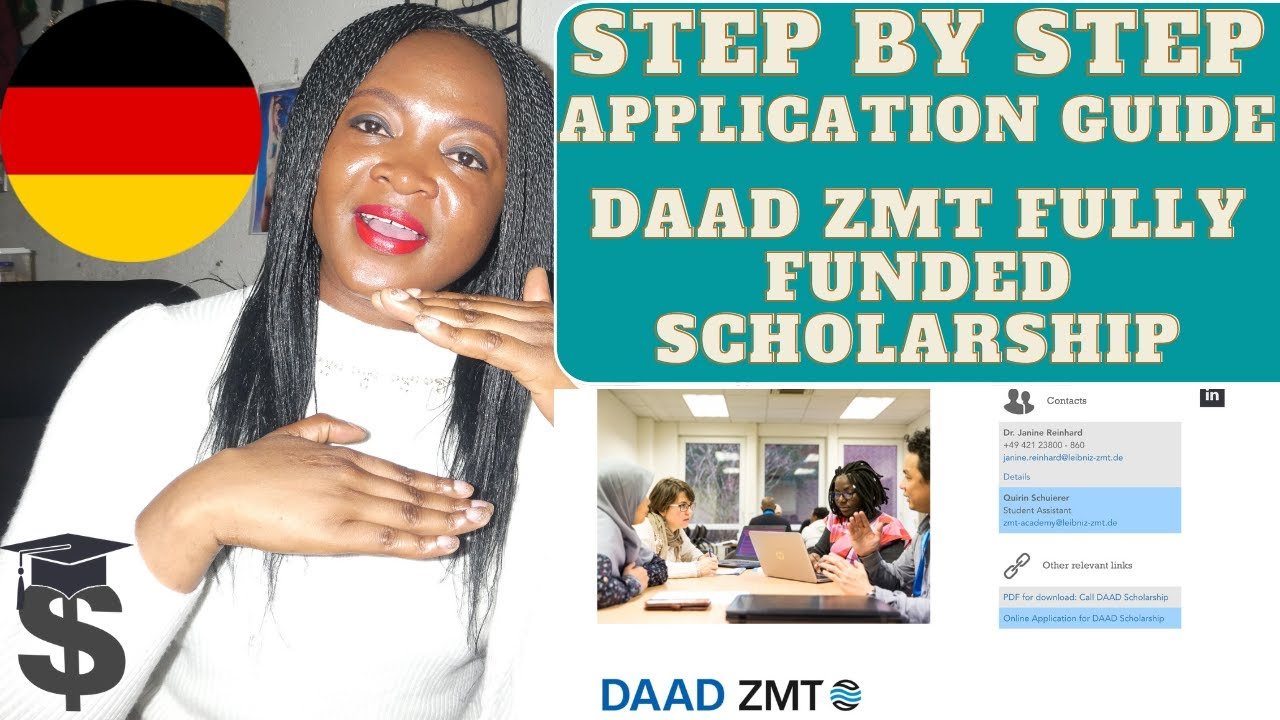 How to ace the DAAD scholarship (3 Steps)