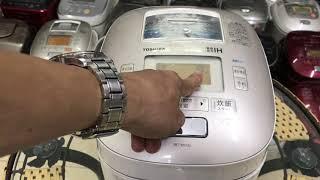 Hướng dẫn sử dụng nồi cơm điện Toshiba nội địa nhật