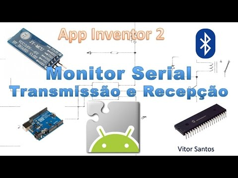 Monitor Serial - bluetooth - App Inventor 2 - Android #03