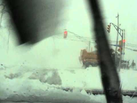Winter Storm Feb 6 2015   Drive Port Hastings Port Hawkesbury NS