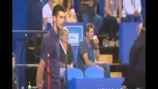 Novak Djokovic Funniest Moments (Part 1)