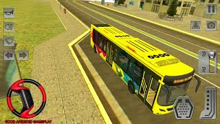 Real Bus Driver Simulator 2018 - NEW City Bus UNLOCKED City Mall Transport Android GamePlay FHD