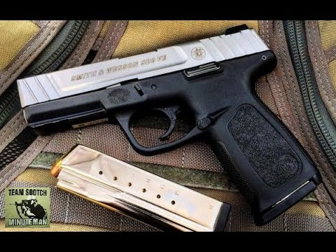 S&W SD9 VE 9mm Pistol Review