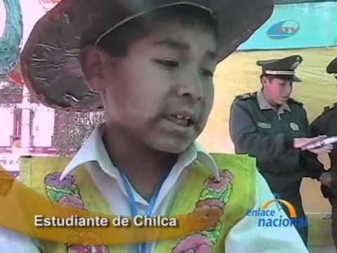 Huancayo  Elaboran sombreros con material reciclado en Feria de Ciencias -  YouTube d7217529a9b