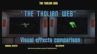 Visual effects comparison - The Tholian Web (redux)