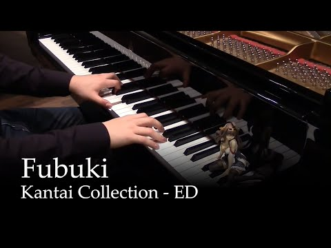 Fubuki - Kantai Collection ED [piano]