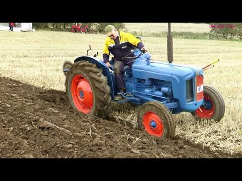 Ploughing with Vintage Tractors - NCPA Ploughing Match 2018.